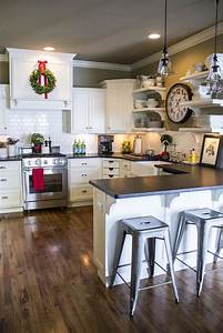 Minimalist, Trends, U2013, White, Kitchen, Cabinets, For, A, Chic, And, Simple, Look