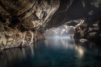 Cave Nature Rock River Wallpapers Desktop Awesome