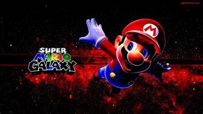 Mario Galaxy Super Bros Wii Wallpapers Background