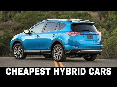 cheapest cars  hybrid engines fuel efficiency