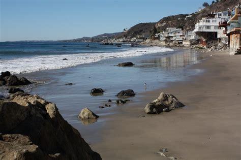 big rock beach malibu ca california beaches