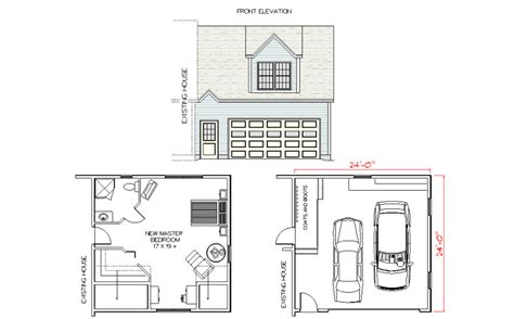 House Plans Master Bedroom Above Garage by Garage With Master Suite Above Addition Garage With Master