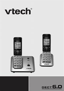 Vtech Cordless Telephone Cs6619