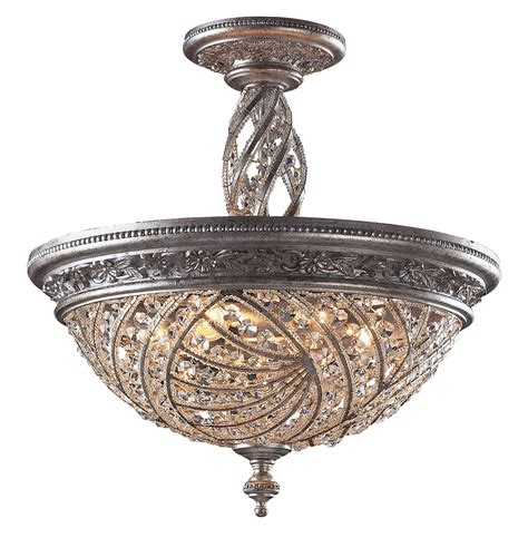 home goods mirrors elk lighting 6233 6 renaissance semi flush mount