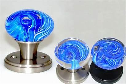 Door Glass Knobs Knob Locks Hardware Swirl