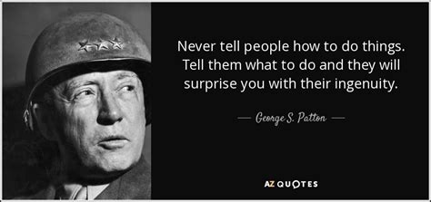 george  patton quote   people