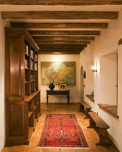 appealing southwestern hallway designs