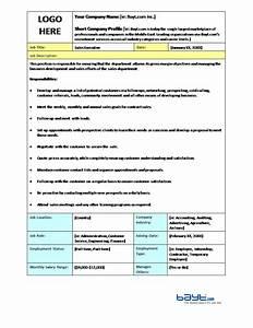 19 free job description templates in word excel pdf With template for job description in word