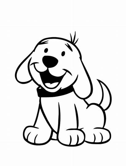 Dog Coloring Happy Puppy Pages Drawing Goldendoodle