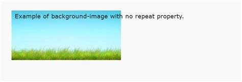 Background Image Css No Repeat Background Image Background Repeat Css Property Formget