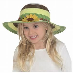 Chapeau De Paille Enfant : chapeau de paille fille achat chapeaux de paille enfant ~ Melissatoandfro.com Idées de Décoration
