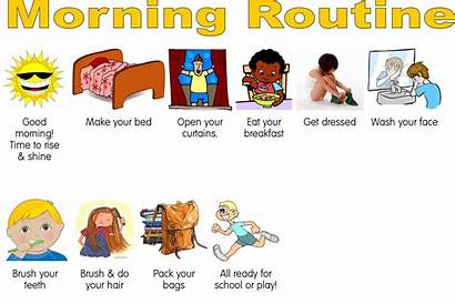 Routine Morning Mummy Merry