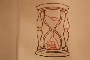 Traditional Hourglass Sketch