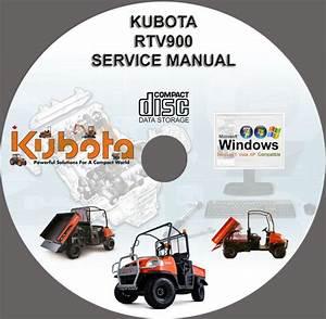 Find Kubota Utv Rtv 900 Service Manual Rtv900 On Cd Motorcycle In Subasa  Default  Hu  For Us  9 00