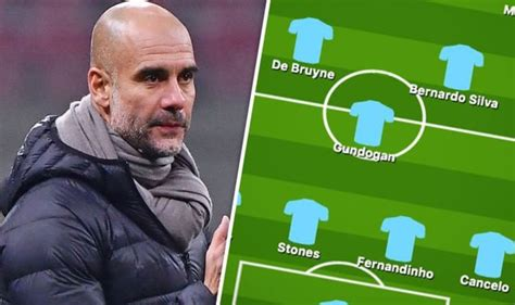 Man City team news: Predicted 4-3-3 line up vs Liverpool ...