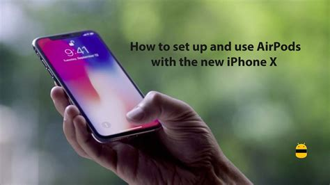 set up new iphone how to set up and use airpods with the new iphone x