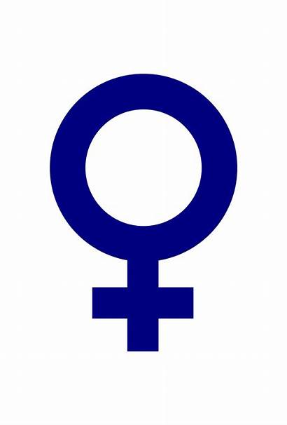 Symbol Female Clipart Gender Sign Openclipart Cliparts