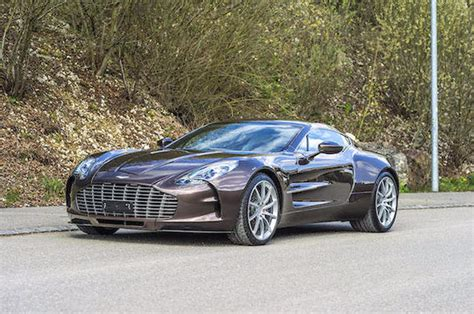 Aston Martin One-77 Up For Grabs In Bonhams' Upcoming