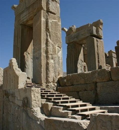 Ancient Persian Empire Ruins