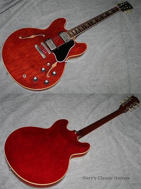 1963 Gibson Es335, Cherry Red  Garys Classic Guitars