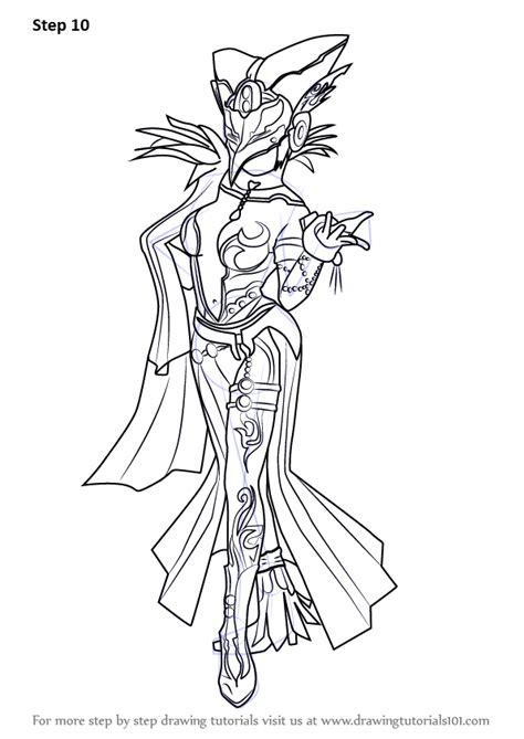 learn   draw cia  hyrule warriors hyrule warriors step  step drawing tutorials