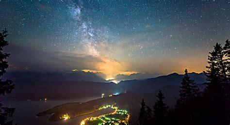 Night Sky Milky Way Time Lapse Bavaria Network