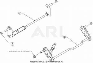 Troy Bilt 12avb2aq711 Tb 240  2017  Parts Diagram For Axles