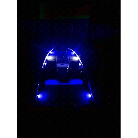 Deck Boat Lights by Nox Series Bass Boat Led Deck Light 4 Pc Multi Color Rgb