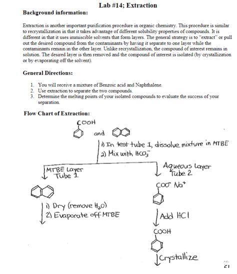 solved     lab report   organic chem  la