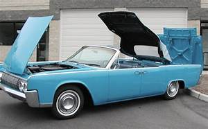 Lincoln Continental Convertible Late 1963 And 1964