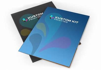 Presentation Folders Kustom Printing Kit