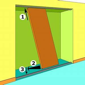 Comment Changer Un Barillet De Porte Fermée : installer des portes de placard coulissantes ~ Melissatoandfro.com Idées de Décoration