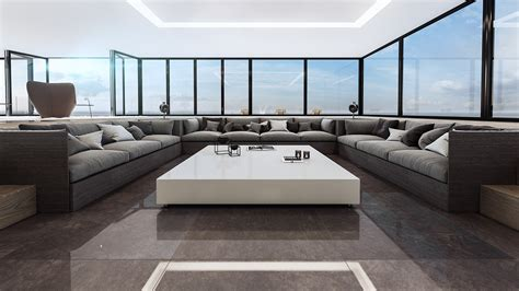 4 Ultra Luxurious Interiors Decorated In Black And White by 4 Ultra Luxurious Interiors Decorated In Black And White
