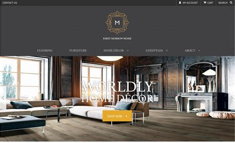 And Decor Morrow by Emily Morrow Home Launches Home Decor Site 2018 01 26