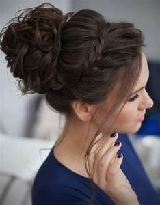 Chignon Demoiselle D Honneur Mariage : coiffure demoiselle d 39 honneur fille 15 coiffures de demoiselle d honneur canons pour faire ~ Melissatoandfro.com Idées de Décoration