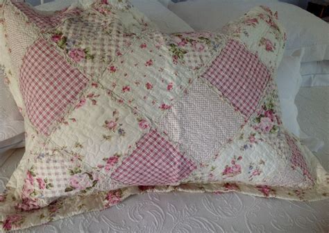 Shabby Chic Kissen by Shabby Chic Pillow Sham Cover Slip Pink Quilted