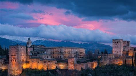 Alhambra Spain HD Wallpaper - WallpaperFX