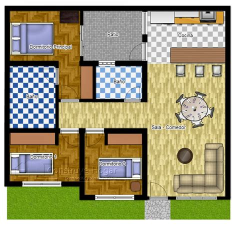 denah rumah minimalis lantai ukuran desain rumah minimalis