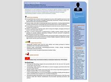 Senior Management Resume Templates Images professional