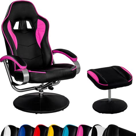 racing tv chair relax racer gt with footrest gaming tv