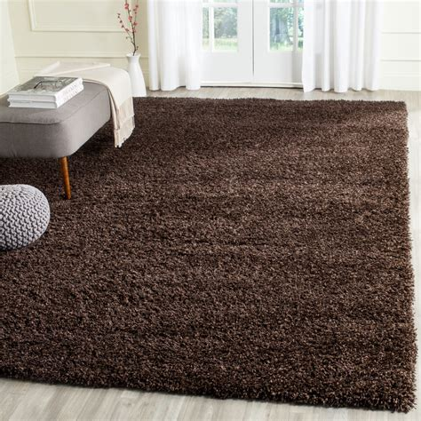 Brown Shag Area Rug by California Shag Brown Area Rug Wayfair