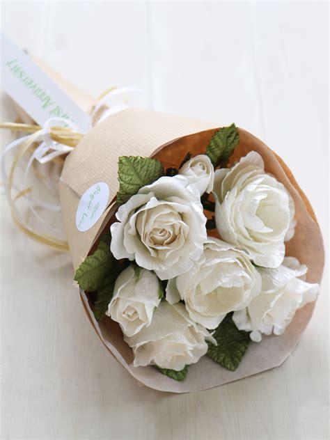 paper anniversary flowers  wedding anniversary bouquet