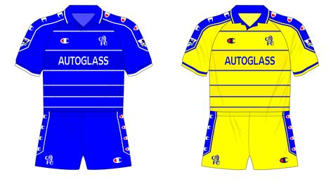 Chelsea Blue And Yellow Kit