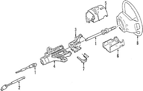 1994 Ford Ranger Steering Column Diagram by Parts 174 Ford Ranger Steering Column Oem Parts