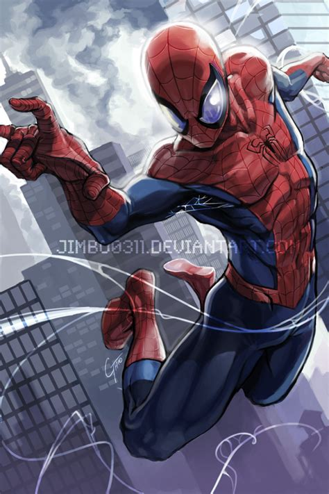 Spiderman By Jimbobox On Deviantart