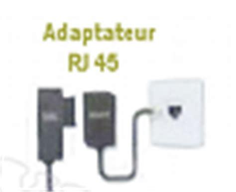 adaptateur prise en t rj45 freebox v6 r 233 volution