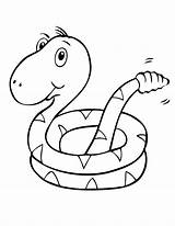 Coloring Pages Snake Snakes Printable Sea Clipart Popular Coloringhome Fun Pdf sketch template