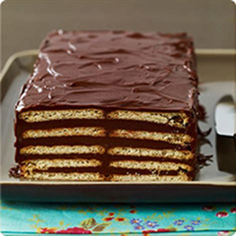 dessert avec petit lu g 226 teau chocolat et v 233 ritable petit beurre