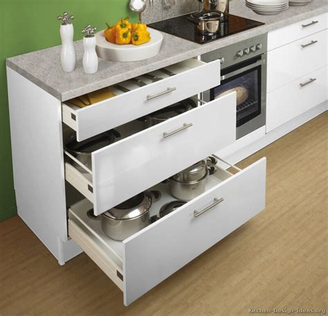 pictures  kitchens modern white kitchen cabinets