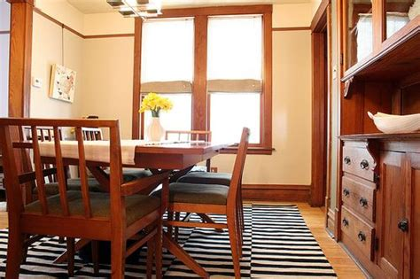 paint colors for honey oak trim striped rug in the dining room paint colors for house